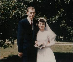 Barb and Darell Smith wedding