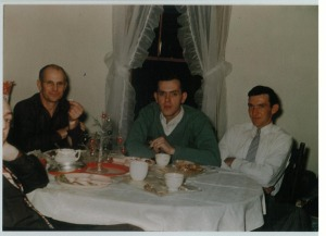 old pictures dad with family