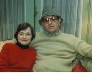 Mom and dad circa 1978