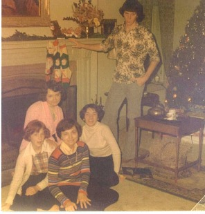 old pictures xmas in 70s