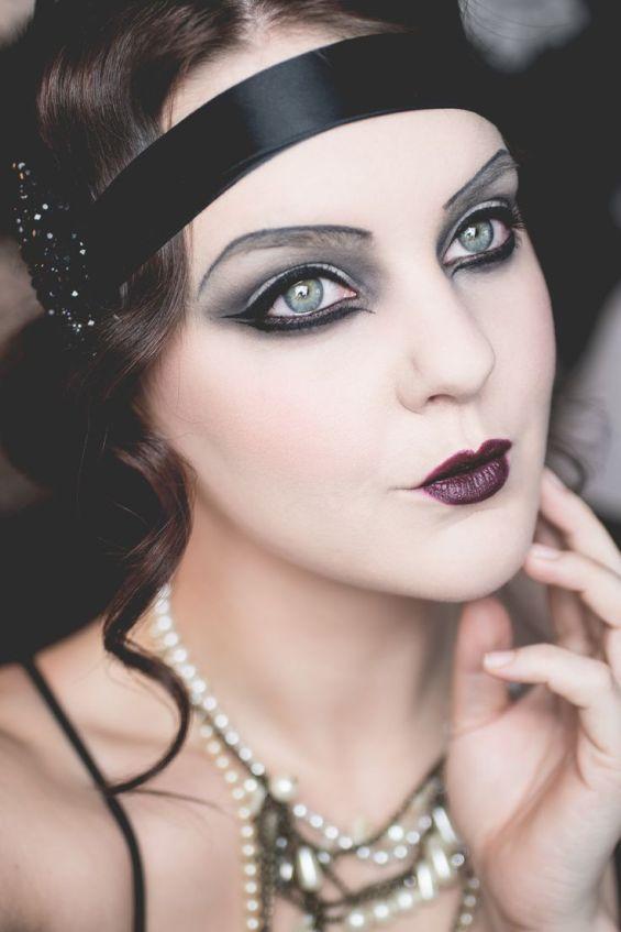 019216f9174669b3322a4453b5cf7831-flapper-makeup-makeup-s