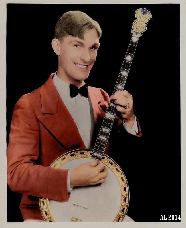 eddie peabody banjo guy
