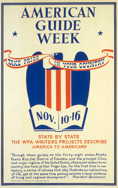 Federal Writers Project American-guide-week-fwp-1941