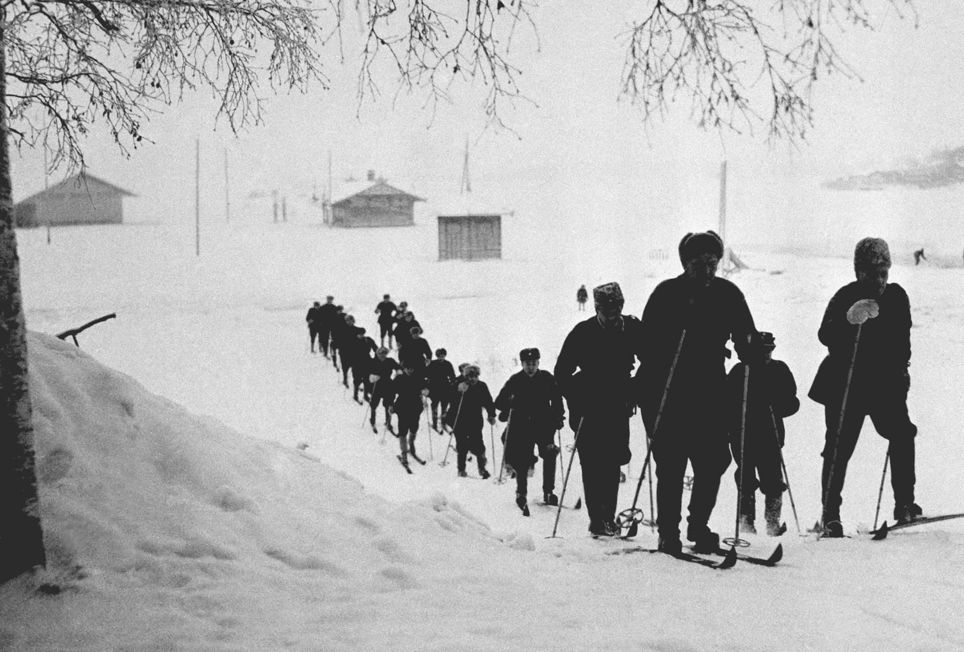 FInns on skis fighting russians dads blog