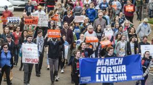 March for Our Lives Protest in Washington D.C. prompted by Parkland High School Massacre