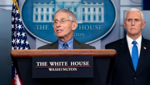 Dr. Fauci at White House Press Conference COVID-19 briefing press conference