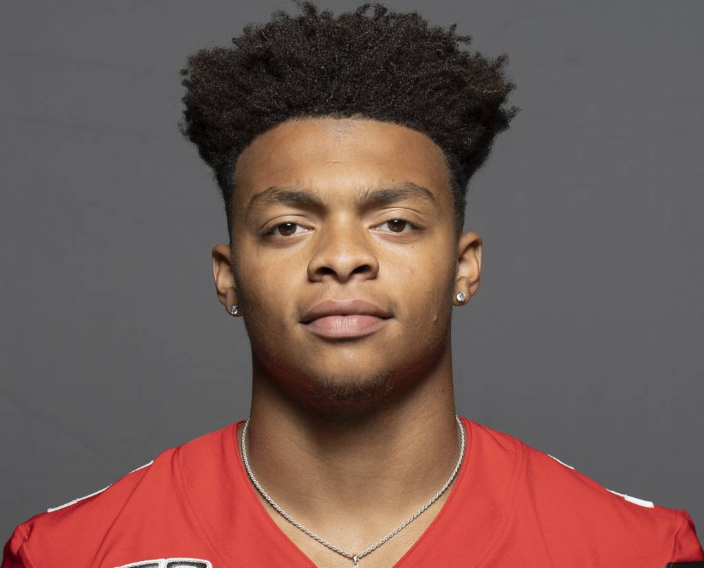 Justin Fields Quarterback for the Ohio State Buckeyes